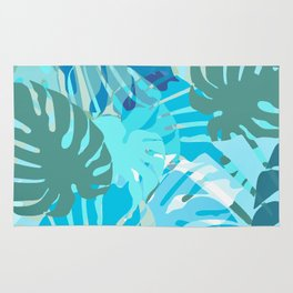 Tropical Blues Rug