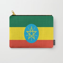 flag of Ethiopia-ኢትዮጵያ, የኢትዮጵያ ,Amharic,  Ethiopian, Addis Ababa. Carry-All Pouch