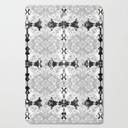 Delicate Castle Curtain Lace Cutting Board