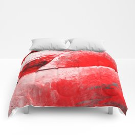 Bloody Mary - Abstract Digital Art Comforters