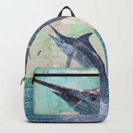 Catch a Marlin if You Can Backpack