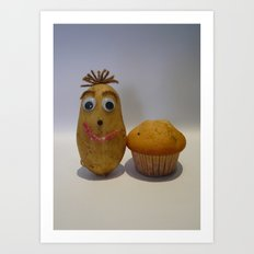 Spud Muffin Art Print