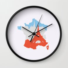 Paris - France Wall Clock
