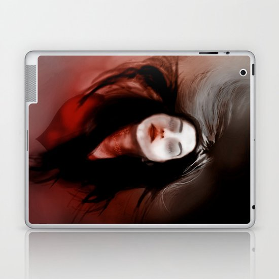 Blind love/I'll pull out my heart Laptop & iPad Skin
