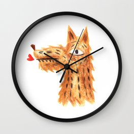 Der Hund Wall Clock