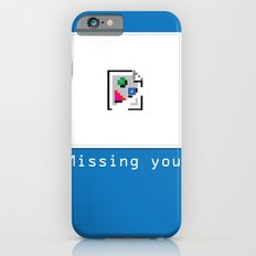 Talk Nerdy to me - Missing you iPhone 6s Slim Case