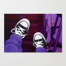 Purple tint Canvas Print