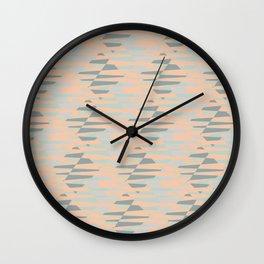 Abstract pattern retro 3 Wall Clock