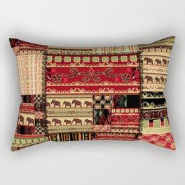 African patchwork. Rectangular Pillow
