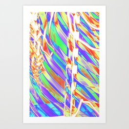 Light Dance Carnival Ribs edit 2 Art Print