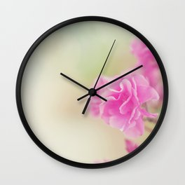 Flores dulces Wall Clock
