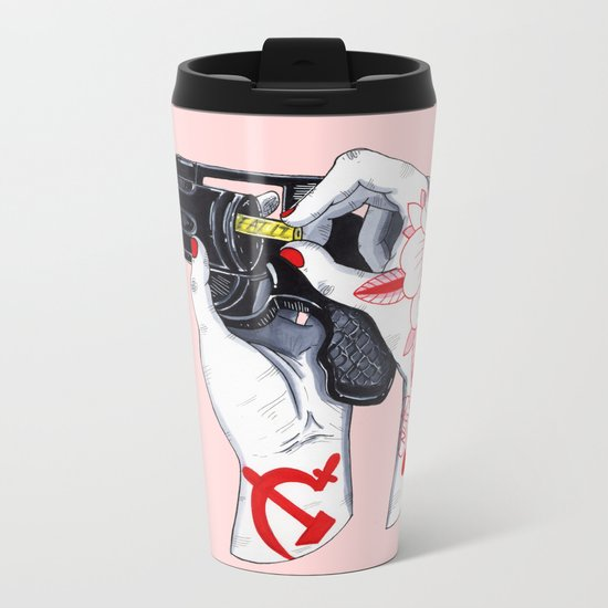 Eat It Metal Travel Mug