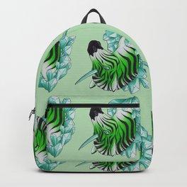 Green Zebracorn Backpack