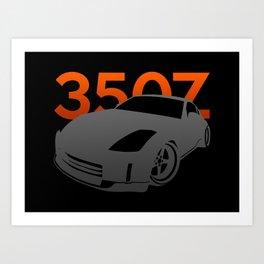 Nissan 350Z Art Print