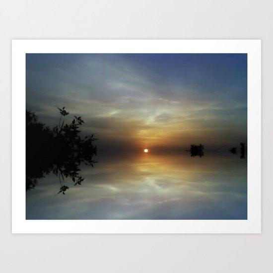 Dreaming Sunshine Art Print