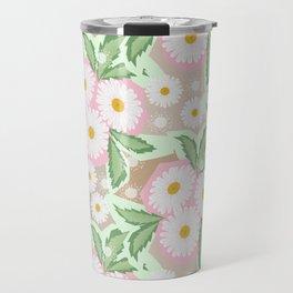 Chamomiles. Pastel'. Travel Mug