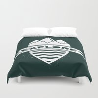 explore Duvet Covers featuring Explore by Dylan Morang