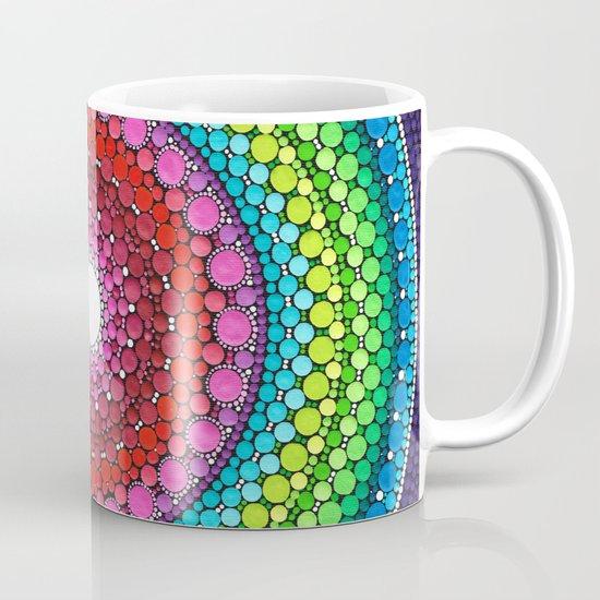 Mandala Of Inner Peace Coffee Mug By Elspeth Mclean Society6