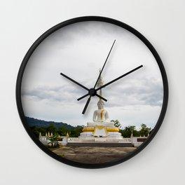 Thailand tempel Khao lak Wall Clock