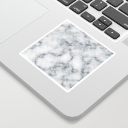 Marble Cloud Sticker