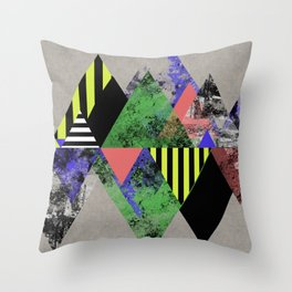 Triangles! Throw Pillow