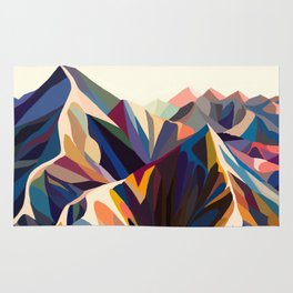 Mountains original Rug