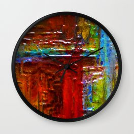 EGYPTIAN Hieroglyphics Wall Clock