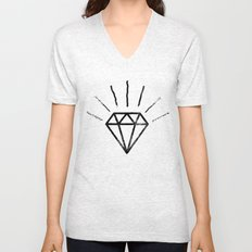 Royal Diamond Unisex V-Neck