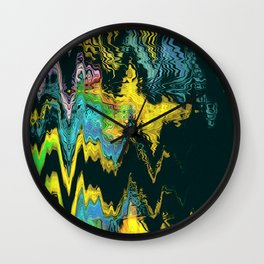 Footsteps Wall Clock