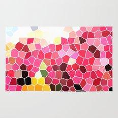 Pattern 5 - pink explosion Rug