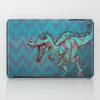 dino iPad Cases featuring dino  by Bunny Noir