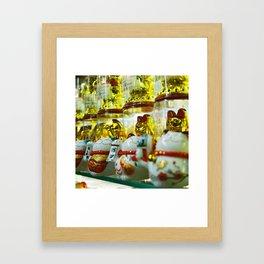 Maneki Framed Art Print