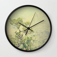 Caribbean Bonsai Wall Clock