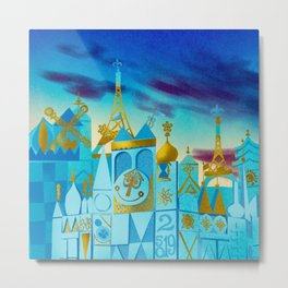 It's a Small World Metal Print