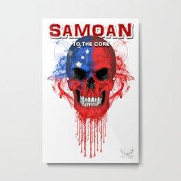 To The Core Collection: Samoa Metal Print