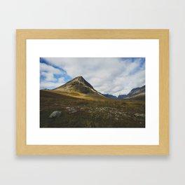 Vistasvaggi - Swedish Lapland Framed Art Print