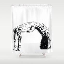 Female Bridging the Gap Shower Curtain