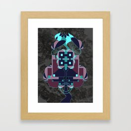 Naturetecture - where technology co-incides with nature Framed Art Print