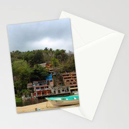 Dreamy Mexican Beach Day Stationery Cards