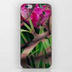 With Flowers iPhone & iPod Skin