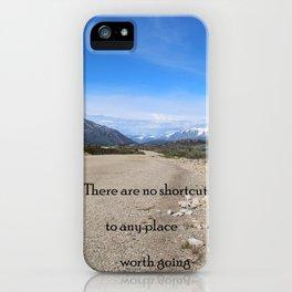 LONGROAD iPhone Case