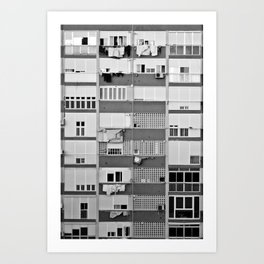 Concrete Jungle Art Print