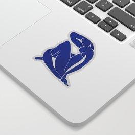 Henri Matisse - Blue Nude 1952 - Original Artwork Reproduction Sticker