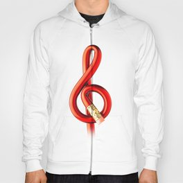 Music pencil Hoody