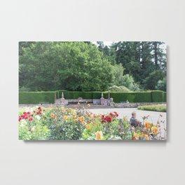 Jardin des Fleurs Metal Print