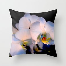orchid#1 Throw Pillow