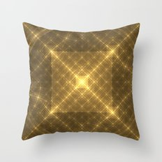 The Peaceful Pyramid Throw Pillow