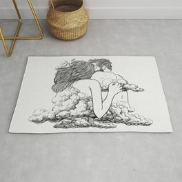 Above the clouds. Rug