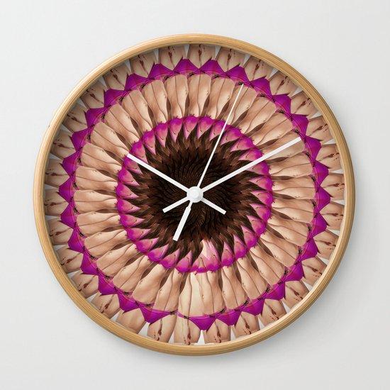 bikini go round Wall Clock