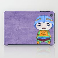 conan iPad Cases featuring A Boy - Man-at-arms by Christophe Chiozzi